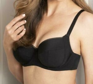 Charnos Everyday Comfort Full Cup Underwired Bra Black RRP £26