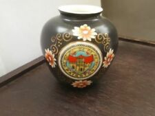 Porcelain/China Black Unmarked Crested China
