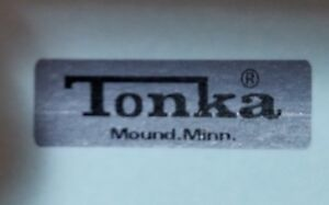 MINI TONKA  ACTION VOLKSWAGON LICENSE PLATES (Mound Minn.)