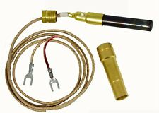 """Thermopile 36"""" two leads with PG9 adapt for Majestic Gas Fireplace 750MV"""