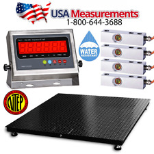 NTEP 10000x1lb 5x5 Floor Scale /Pallet Scale / SS Upgrade/ Good for Outdoor Use