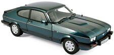 NOREV 182718 FORD CAPRI 280 BROOKLANDS model road car green Ltd Ed 1986 1:18th