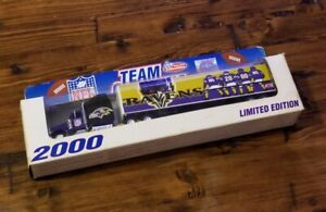 Baltimore Ravens 2000 1:80 Limited Edition Tractor Trailer