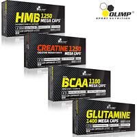 HMB Pills + CREATINE MONOHYDRATE + BCAA Amino Acids + GLUTAMINE - Supplements