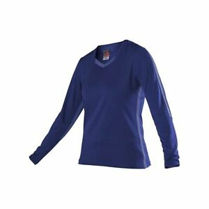 Alleson Athletic Women's Dig Long Sleeve Volleyball Jersey - Royal, XS