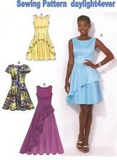 Women Evening Dress Party Gown Sewing Pattern 7091 Dance Prom Size 6-14 #k