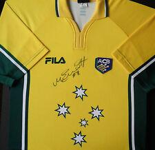 MATTHEW ELLIOTT Signed AUSTRALIA CRICKET Shirt ASHES Legend COA
