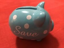 Melissa & Doug Tiffany Blue Piggy Bank For Avon