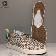 adidas X BAIT STAN SMITH VULC 'HAPPY' - CBROWN/GREEN/VIVRED - AQ7936