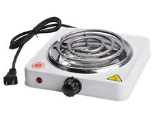 Portable Electric Burner 1000W Cooktop Single Stove Hot Plate Kitchen Countertop