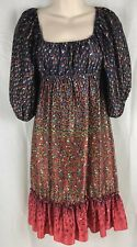 Betsey Johnson Hippie Boho Prairie Dress Size 2