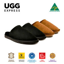 UGG Unisex Classic Scuff Australian Made Premium Merino Sheepskin Slipper