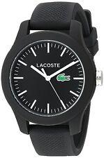 Lacoste Original 2000956 Women's Black Rubber Strap 38mm