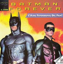 BATMAN FOREVER L'ALBO FOTOGRAFICO DEL FILM