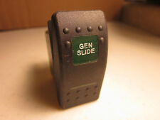 Gen Slide Rocker Switch 12v 20amp Illuminated Camper RV Trailer Truck V1D1