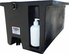 Vehicle Water Tank with soap dispenser (50L) Under tray truck tank BLACK