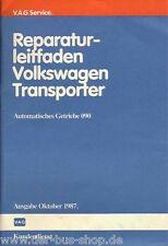 VW Bus T3 - Reparaturleitfaden - Automatik Getriebe