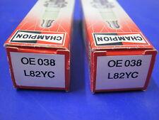 2 CANDELE CHAMPION L82YC FIAT 500 R 126