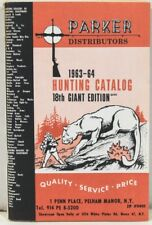 1963-64 Hunting catalog from Parker Distributors, Pelham Manor NY – w/ Prices