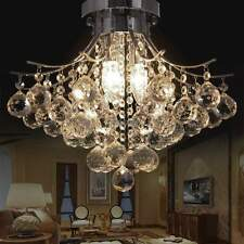New CRYSTAL CHANDELIER LIGHTING Dining /Living Room Ceiling Fixture Lamp TOP!