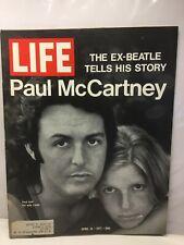 Life - April 16, 1971 The Ex-Beatle Tells His Story Paul Mcartney