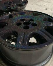 Higloss Sparkle Holographic Black Powder Coat Paint 1lb 450 G