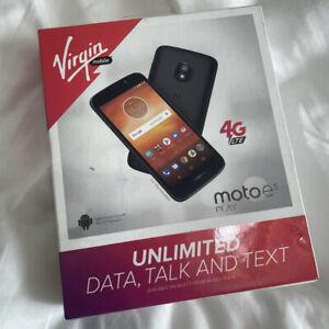 NEW - Virgin Mobile Motorola Moto E5 Play