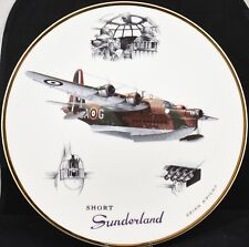 "Royal Doulton Short Sunderland Legends of the Sky RAF 10"" Collectors Plate"