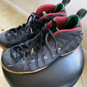 nike foamposite size 13 pro gum Gucci Color way Very Used Condition.