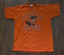 Florida Gators T Shirt 50/50  Vintage Vtg  Size L *C0701170