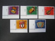 Schweiz Pro Patria MiNr. 1296-1300 Eckrand gestempelt  (D 445)