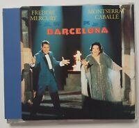 """QUEEN // FREDDIE MERCURY : BARCELONA (12"""" MIX on MAXI-CD) french edition !"""