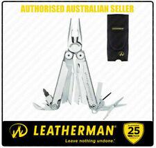 Leatherman Wave Standard Stainless Steel Multitool Leather Sheath