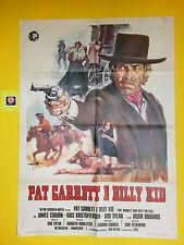 M145 PAT GARRET E BILLY KID ( PAT GARRET & BILLY THE KID) , MANIFESTO 2F, 1973