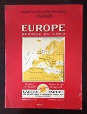 CARTE TARIDE 115 EUROPE AFRIQUE DU NORD 1962 Vintage & Collector
