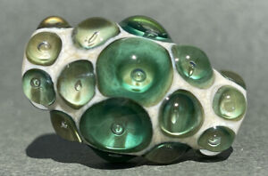 Handmade Lampwork Focal Bead ~ Julep ~ By Soul Of Glass SRA