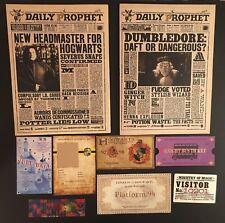 Hufflepuff Christmas Stocking Stuffer Daily Prophets Tickets Harry Potter Custom