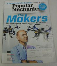 Popular Mechanics Magazine 25 Leaders Industrial Revolution April 2014 071814R