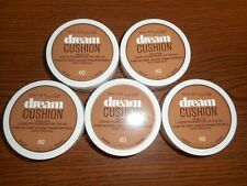 Lot Of 5 Maybelline Dream Cushion Liquid Foundation 60 Cocoa 0.51oz Ea x5=2.55oz