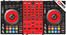 Pioneer DDJ-SX3 Skin - Black-red
