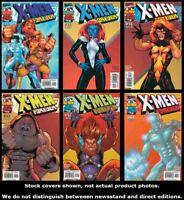 X-Men Forever 1 2 3 4 5 6 Marvel 2000 Complete Set Run Lot 1-6 VF/NM