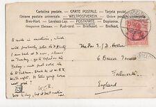 Rev E D Hellier Beacon Terrace Falmouth 1907 348a