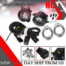 Pair Fog Lights & Wiring Kits For Mitsubishi Outlander Sport Asx Rvr 2007~2019 (Fits: Mitsubishi)