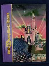 Vintage Walt Disney World Resort Souvenir Hardcover Book 1995 Figment Horizons