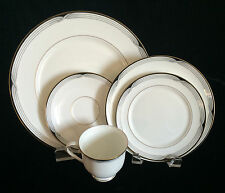 Lenox Erica Five Piece Place Setting Debut Collection White Bone China Japan