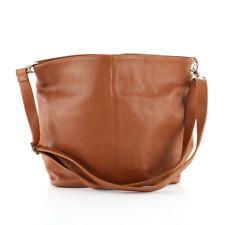Shopper Schulter Umhänge Hand Tasche Italy Leder Rot Crossover Bag Börse Pelle*