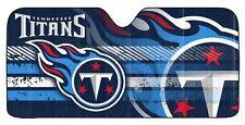Tennessee Titans Auto Sun Shade -NEW NFL Car Truck Window Reflective Cover 59x27