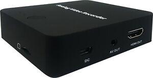Premium Mini RCA Video Audio Recorder With HDMI RCA Output