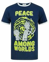 Rick And Morty Peace Among Worlds Men's T-Shirt
