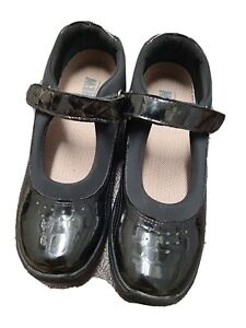 Drew Mary Jane Black Patent Croc Leather Slip on Casual Comfort Shoes Womens 6N